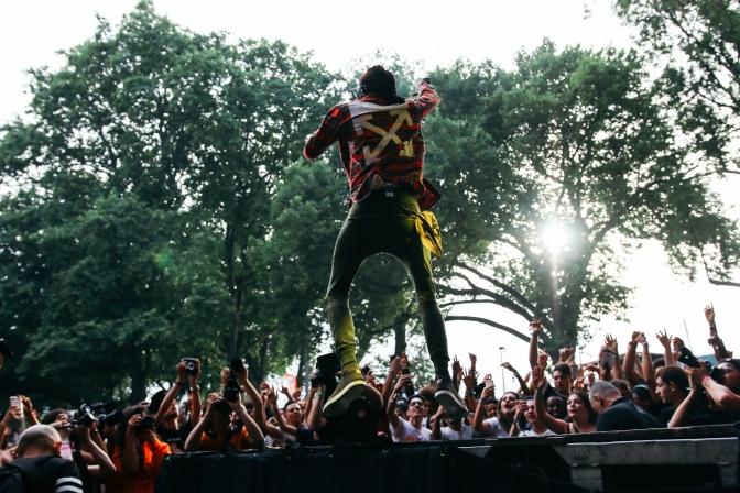 Liège : Festival «les ardentes»