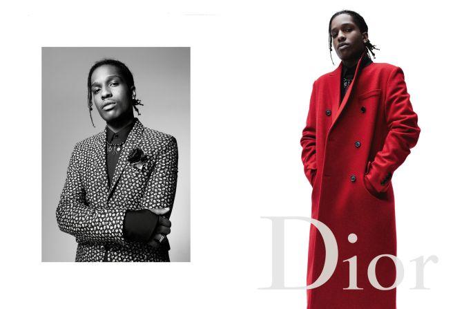 Asap rocky : Quand la nouvelle generation hip-hop rencontre la mode.